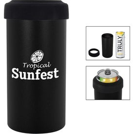 Slim Stainless Steel Insulated Can Holder