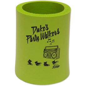 Printed Stand-Up Can Cooler