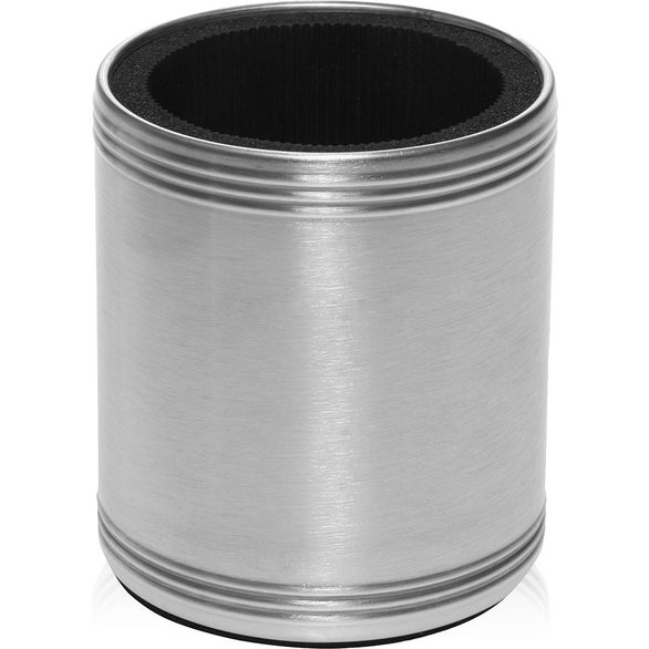 Silver Steel Can Cooler