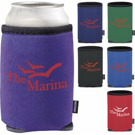 Summit Collapsible Koozie Can Cooler Branded with Your Logo