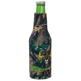 Trademark Camo Bottle Suit for Advertising