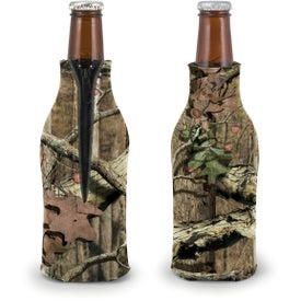 Trademark Camo Zippered Bottle Coolie for Customization