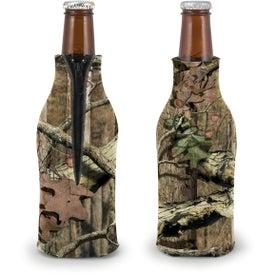 Trademark Camo Zippered Bottle Coolie for Customization