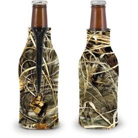 Trademark Camo Zippered Bottle Coolie