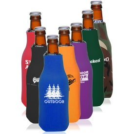 Zipper Beer Bottle Insulator