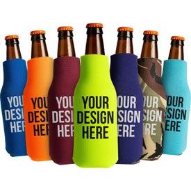 Zipper Beer Bottle Insulator