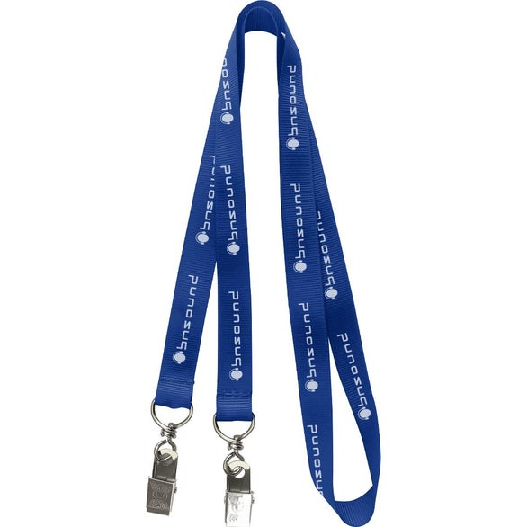 Royal Blue Mask Lanyard