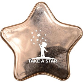 Metallic Star Lip Balm with Mirror