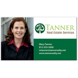 Personalized BIC 4-Color Process Business Card Magnet