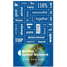 Message Magnet with 30 Words (.025 Thickness)