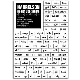 97 Household Words Magnet