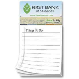 "Magnetic Notepad (0.02"" Thick, 50 Sheets)"