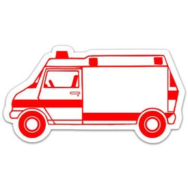 Ambulance Magnet with Your Logo