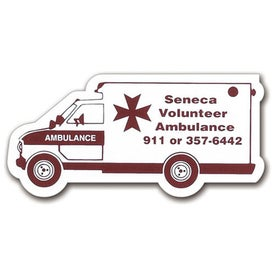"Ambulance Magnet (0.02"" Thick)"