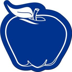 Branded Apple Shaped Flexible Magnet