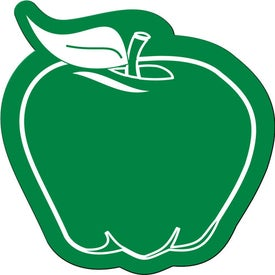 Apple Shaped Flexible Magnet Printed with Your Logo