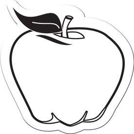 Apple Shaped Flexible Magnet for Marketing