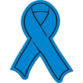 Awareness Ribbon Flexible Magnet Branded with Your Logo