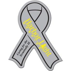 Customized Awareness Ribbon Flexible Magnet