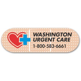 """Bandage Magnet (1 1/4"""" x 4"""", .020 Thickness)"""