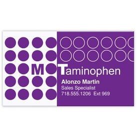 Business Card Magnet for your School