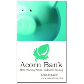 Company 4-Color Jumbo Business Card Magnet
