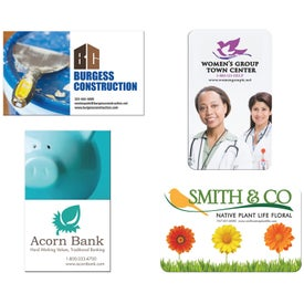 "Jumbo Business Card Magnet (0.02"" Thick, 2.5"" x 4.125"")"