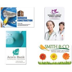 Jumbo Business Card Magnet (20 Mil)