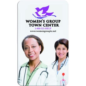 Advertising 4-Color Jumbo Business Card Magnet