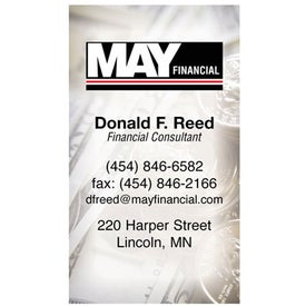 Advertising Business Card Magnet