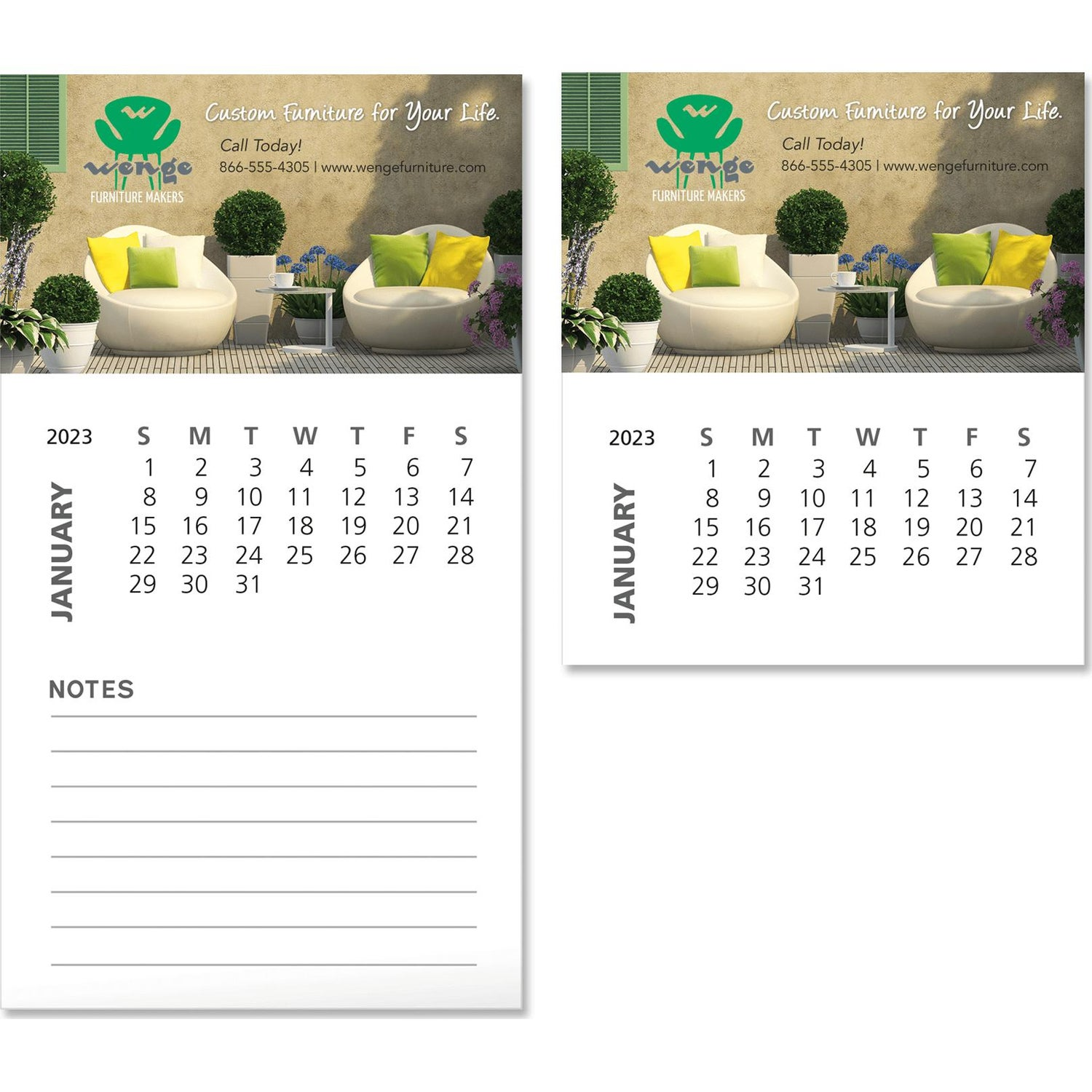 Promotional 12 sheets business card magnet with calendars with full color imprint business card magnet with calendar 12 sheets with your slogan colourmoves