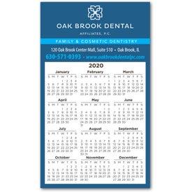 "Calendar Magnet (4.9"" x 2.9"", .020 Thickness)"