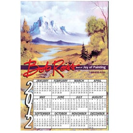 Calendar Magnet Branded with Your Logo