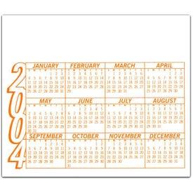 Company Calendar Magnet