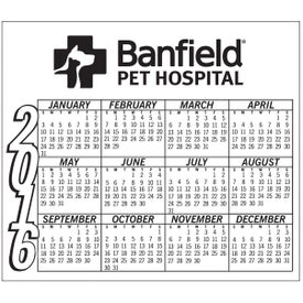 Calendar Magnet Imprinted with Your Logo
