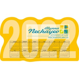 "BIC Large Calendar Magnet (0.02"" Thick, 2021)"