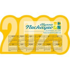Large Calendar Magnet (20 Mil)
