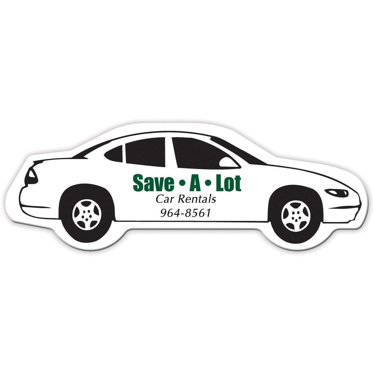 Promotional Car Mil Medium Stock Shape Magnets With Custom - Custom car magnets large
