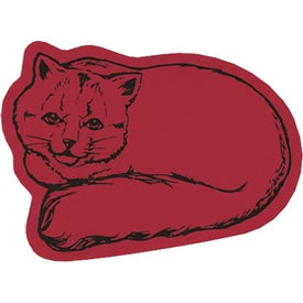 Cat Flexible Magnet for Promotion