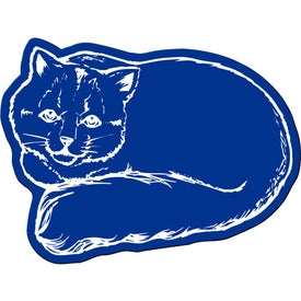 Logo Cat Flexible Magnet