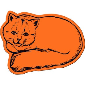 Cat Flexible Magnet for Your Company