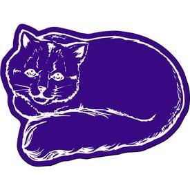 Monogrammed Cat Flexible Magnet