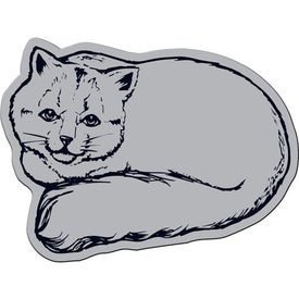 Cat Flexible Magnet for Marketing