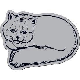 Cat Flexible Magnet for Marketing