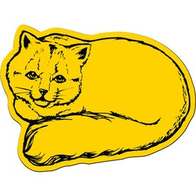 Cat Flexible Magnet with Your Slogan