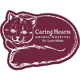 Logo Cat Flexible Magnet