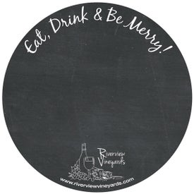 Circle Chalkboard Magnet