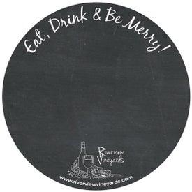 Circle Chalkboard Magnet