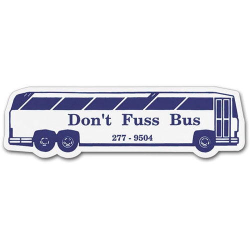 Charter Bus Magnet