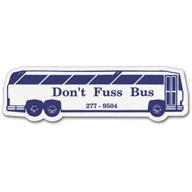 "Charter Bus Magnet (0.02"" Thick)"